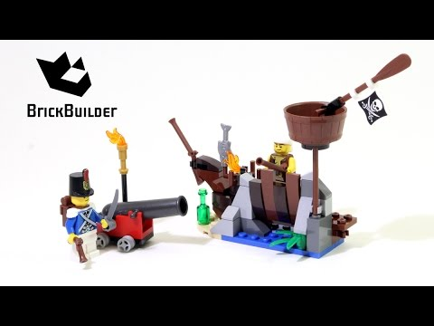 Lego Pirates 70409 Shipwreck Defense - Lego Speed build