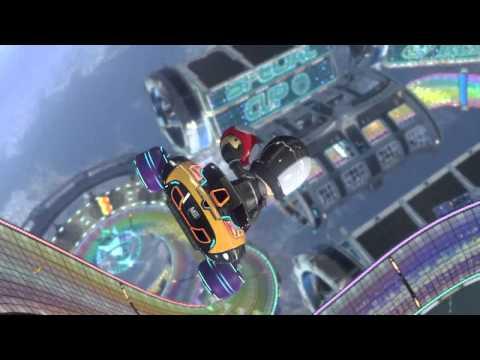 Wii U - Mario Kart 8 - Regenbogen-Boulevard