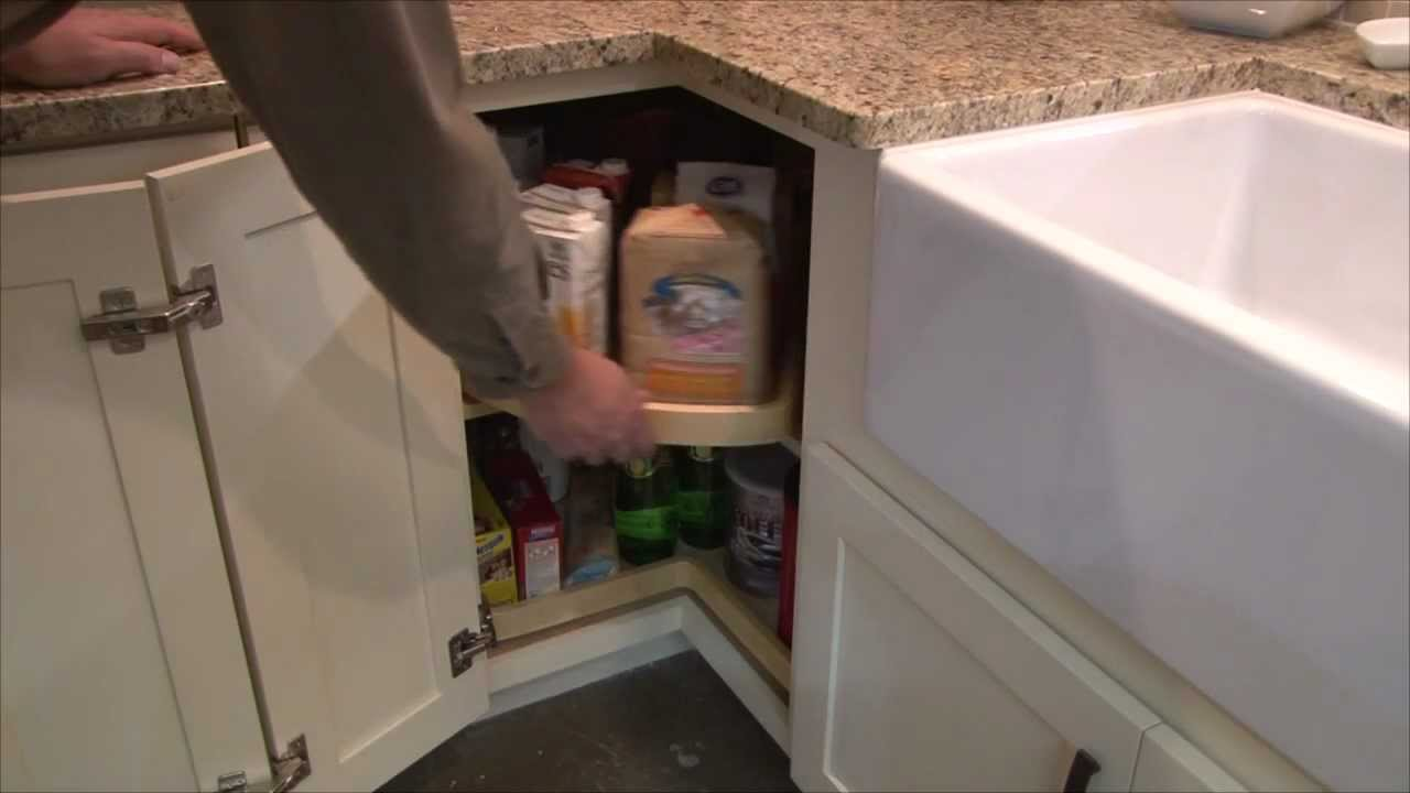 Kitchen Lazy Susan Backspash The Super Cabinet By Cliqstudios Com Youtube