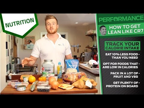How to get lean like Cristiano Ronaldo | Elite sports nutrition