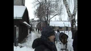 Auschwitz Concentration Camp Tour  Holocaust  January 2006 Poland