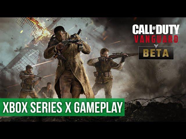 Call of Duty Vanguard Beta - Team Deathmatch on Eagle's Nest - Xbox Series X Gameplay (HD60FPS)