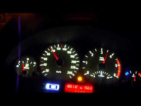 BMW 320d E46 Stock 136hp Acceleration