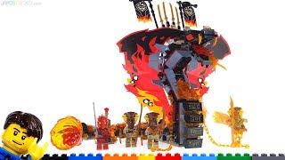 LEGO Ninjago Fire Fang review! 70674 season 11 set