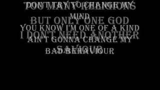 Ozzy Osbourne - I Don't Wanna Stop lyrics
