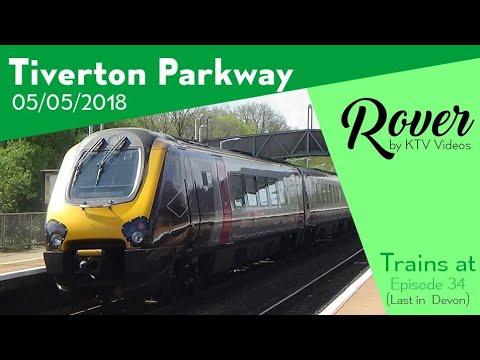 Trains at Tiverton Parkway, GWML - 5/5/18