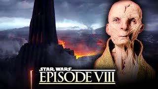 Star Wars The Last Jedi - NEW DETAILS! Snoke's Turn to the Dark Side and Timeline of His Past!
