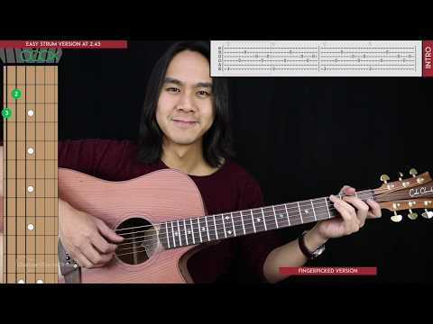 Maybe It's Time Guitar Cover Acoustic - Bradley Cooper  🎸 |Tabs + Chords|