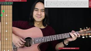 Maybe It's Time Guitar Cover Acoustic - Bradley Cooper  🎸 |Tabs + Chords| Video