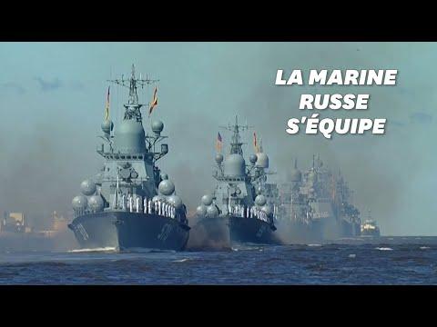 Démonstration de force en Russie: Poutine veut armer sa marine d'armes nucléaires hypersoniques