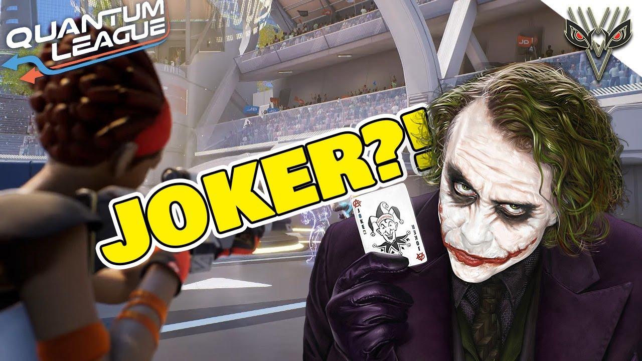 Playing AS The JOKER! (Quantum League)