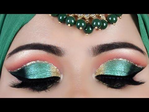 कट क्रीज़ आई मेकअप how to do easy cut crease eye makeup