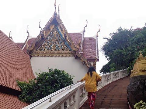 VLOG Bangkok Day 1 : Arrivée, Wat Saket, Khao San Road