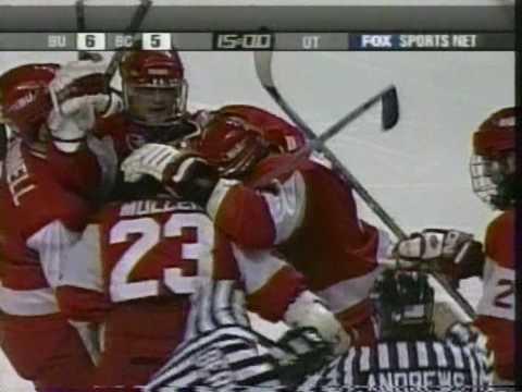 BU Hockey - 2003 Hockey East semifnal game-winning goal