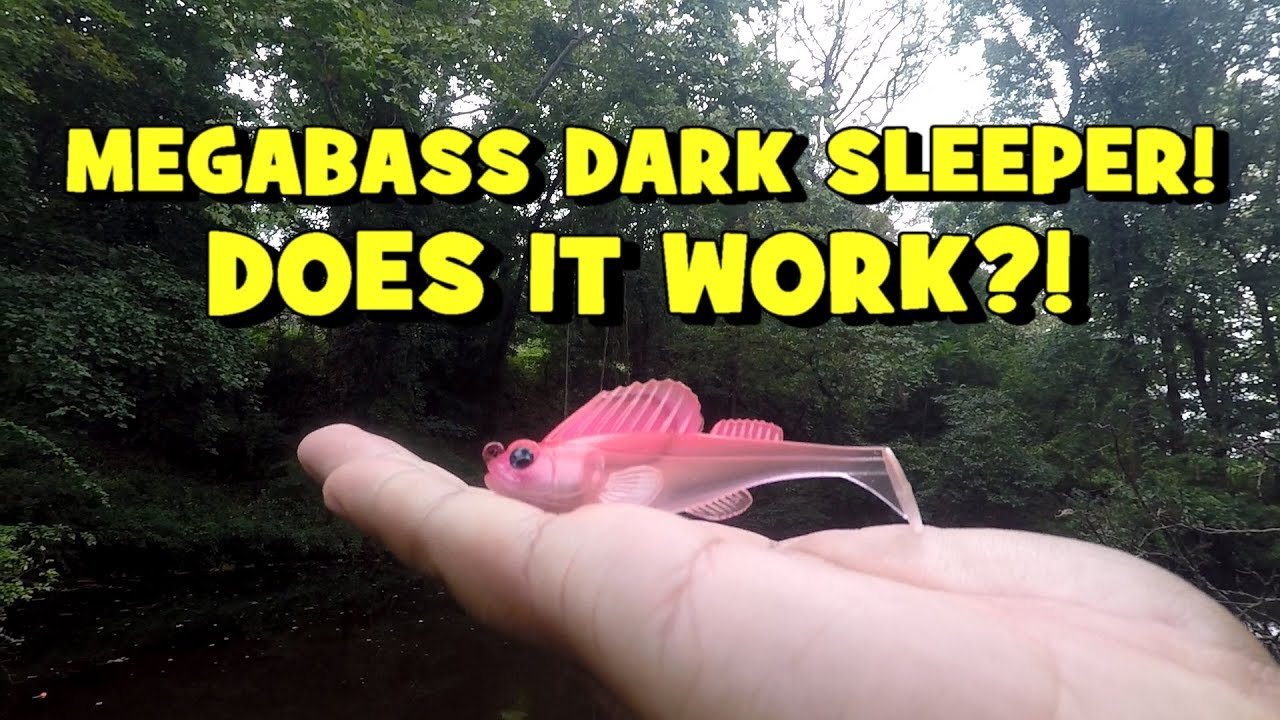 MEGABASS Dark Sleeper! DOES IT WORK?! (Surprise Catch!) Lure Review w/ EPF  - EP3