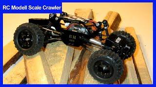 Rc Losi Micro Rock Crawler Umbau Mit Aufbau Des Modifizierten Metall Getriebes