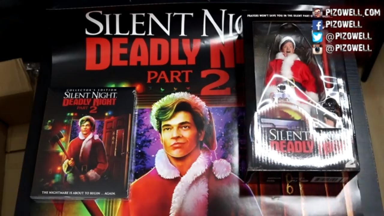 Silent Night Deadly Night Part 2 Deluxe Limited Edition Unboxing Scream Factory