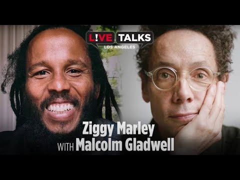 Ziggy Marley with Malcolm Gladwell at Live Talks Los Angeles