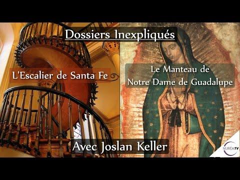 19/09/16 « L'escalier de Santa Fe et le manteau de Notre Dame de Guadalupe » avec Joslan Keller