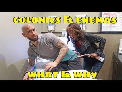 COLONICS AND ENEMAS
