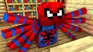 Monster School : BREWING SPIDERMAN - Minecraft Animation