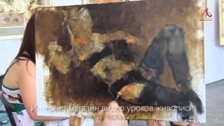 Живопись с натуры - бесплатный видео урок от Елены Ильичевой