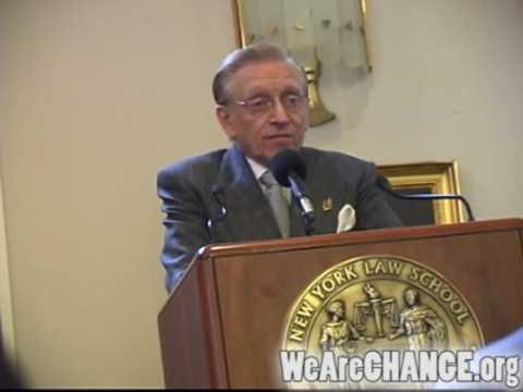 WeAreCHANGE confronts Larry Silverstein
