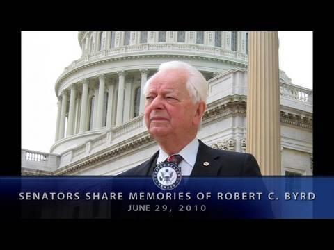 Senators Share Memories of Robert C. Byrd