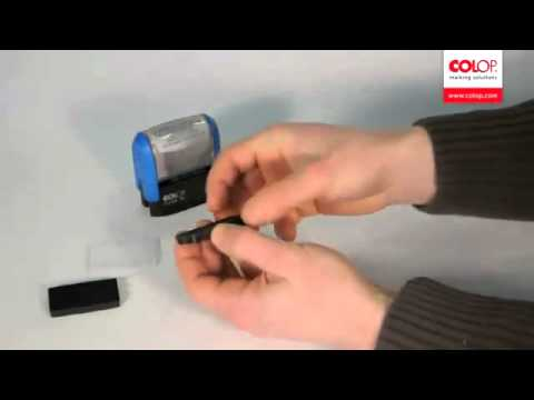 Alô Carimbos - COLOP Printer Line - Troca de Refil
