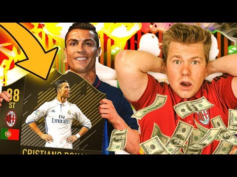RONALDO W AC MILAN!!! NOWY PIRLO?! MILAN TO GLORY! FIFA 17