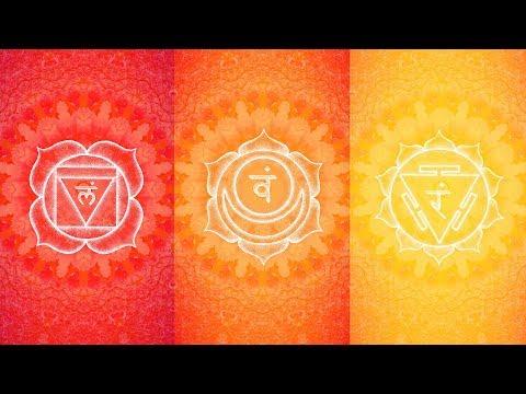 LOWER CHAKRAS HEALING MUSIC | Raise Positive Vibration Energy, Overcome Fear & Boost Inner Power