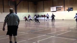 Pacific Jaguars vs. Surrey Crooks - Period 1 (11/17/12) Ball Hockey Videos