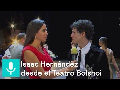 Paola Rojas entrevista a Isaac Hernández en el Teatro Bolshoi - Al Aire con Paola