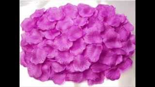 600pc Silk Rose Petals Wedding Flowers, durable and reliable ; Artificial Wedding Flowers