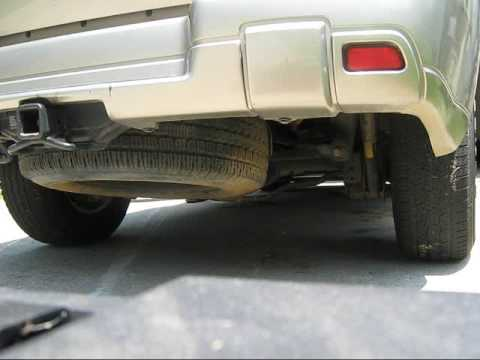 Custom Magnaflow exhaust 2003 Trailblazer ls - YouTube