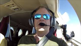Long distance flight from Ohio to Ft Lauderdale in a Cessna 421.
