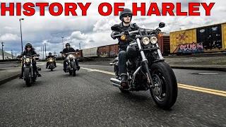 history of Harley Davidson Motorcycles