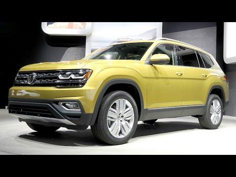 Volkswagen Atlas Teramont семиместный джумбо кроссовер