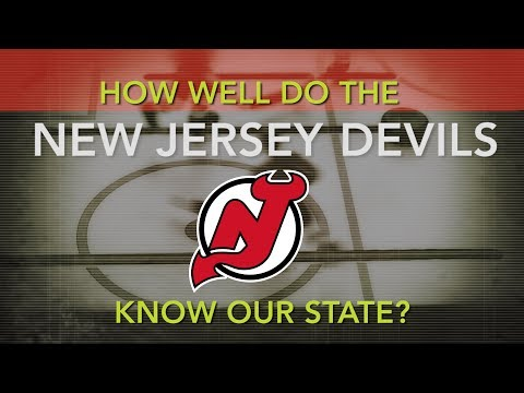 How well do the New Jersey Devils players know New Jersey?