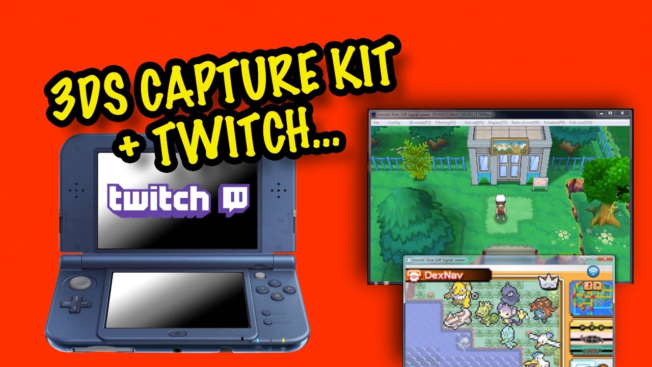 How I Twitch Stream a 3DS Game (With 3DS Capture Kit) – Blunty tv