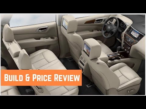 2020 Nissan Pathfinder SL AWD  - Build & Price Review: Trims, Colors, Interior, Features, Safety