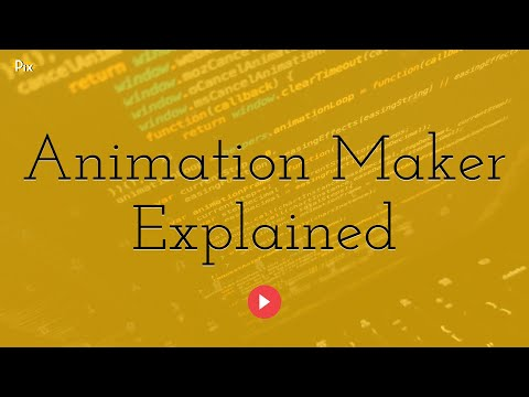 Create your own animations starting from an image template