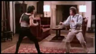 Jackie Chan vs Benny Urquidez Fight scene