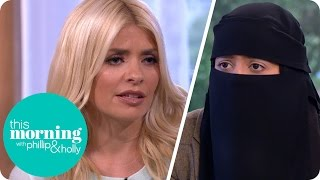 Holly Slams the Proposed British Burka Ban | This Morning thumbnail