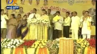 Chandrababu Srikakulam & Vizianagaram janmabhoomi-Maa vooru | Highlights