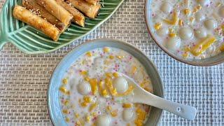 How To Cook Yummy Ginataang Mais  Turon With Langka &amp Cinnamon  Pinoy Meryenda