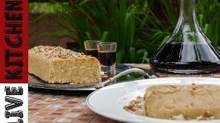 Ο Πιο Εύκολος Λευκός Κορμός με 4 υλικά | White chocolate Biscuit cake | Lιve Kitchen