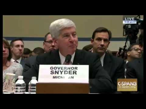 """Rep Matt Cartwright ABSOLUTELY DESTROYS Michigan Gov Rick Snyder """"YOU NEED TO RESIGN"""""""