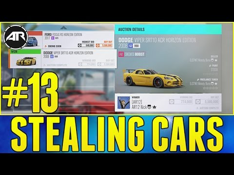 Forza Horizon 3 Let's Play : AUCTION HOUSE STEALING!!! (Part 13)