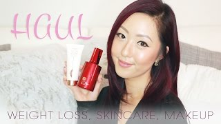 HAUL | My Weight Loss + New Skin Care & Makeup